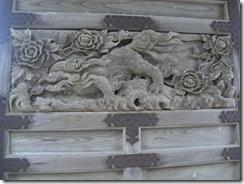 CIMG2606正蓮寺山門陽の彫物